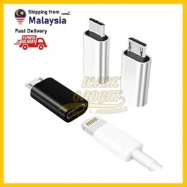 [READY STOCK] Adapter Convert Type C To Micro USB, Lightning To Type C, Lightning To Micro Connector