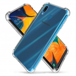 Samsung Galaxy A10, A20, A30, A50 Crystal Clear TPU Transparent Case