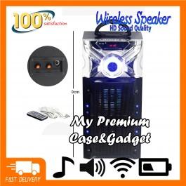 Big Portable Karaoke Bluetooth Speaker RX-525 SUPER BASS with FM/AUX/SD Card/USB