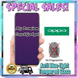 Oppo A1K, A3S Matte Anti Blue Ray Tempered Glass Screen Protector