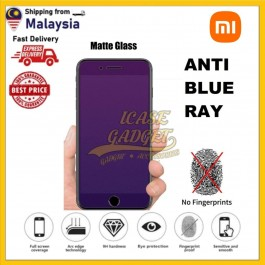 Redmi Note 7, Redmi 7 Matte Anti Fingerprint With Anti Blue Ray Tempered Glass Screen Protector