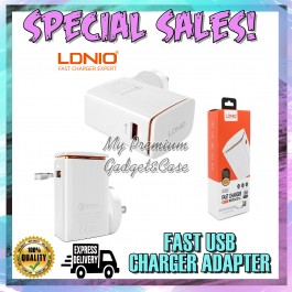 LDNIO A1301Q Fast Charging 3.0 18W Single USB Port charger For Android FREE USB Cable