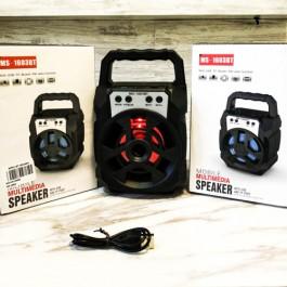 Portable Wireless Speaker MS-1603BT Bluetooth With FM radio USB/TF/AUX/BT Mini MP3 Clear Sound Super Bass