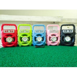 Portable Wireless Speaker MS-1606BT Bluetooth With FM radio USB/TF/AUX/BT Mini MP3 Clear Sound Super Bass
