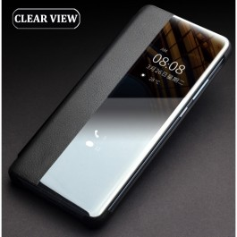 Huawei Mate 30, Mate 30 Pro Smart Clear View Touch Luxury Sensor Leather Flip Case