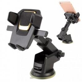 King Kong Car Phone Holder Suction Cup Adjustable Telescopic Rod Bracket