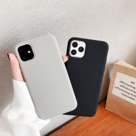 iPhone 11, 11 Pro, 11 Pro Max Official Liquid Candy Color Soft TPU Full Protection Silicone Case