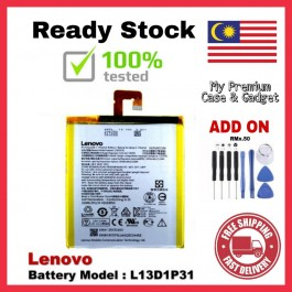 [100% FULL CAPACITY] Battery Lenovo A3300 A5000/P70 Tab 2/A7-30 Tab 3 7.0/TB3-710L S5000 BL234 L12D1P31 L13D1P31 High Quality Replacement Spareparts