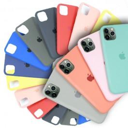 iPhone 7/8 Plus Candy Color Casing Liquid Silicone Rubber Premium Case