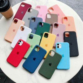 iPhone 11 Pro Max All-Inclusive Drop-Resistant Candy Liquid TPU Silicone Anti Shockproof Case With Logo