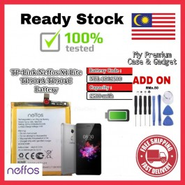 [100% FULL CAPACITY] Battery Neffos TP-LINK X1 Lite NBL-38A2500/TP904A High Quality Replacement Spareparts Add-On Tools
