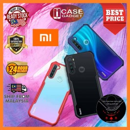 Redmi 8A,Note 7 8 9S 10Poco M3 Pro Shockproof Military Grade Rugged Full Protection Armor Transparent Case Like XUNDD