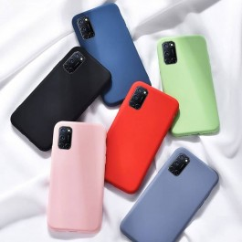 Oppo A12/A5S/F9, A37, A92Candy Liquid Full Cover TPU Silicone Anti Shockproof Case