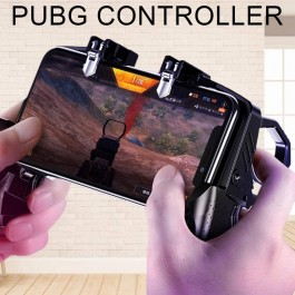 K21 PUBG Mobile Game Controller Joystick Shooter Trigger Fire Button L1R1 Two-tone Gamepad