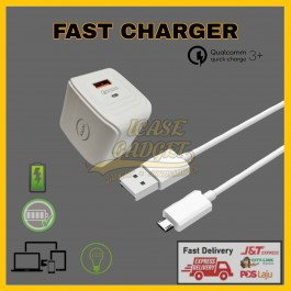 Kazhi XD-F02 USB Output Port 2.4a / XD-F01 Dual USB Output Port 3.0A Fast Charging Travel Charger Adapter