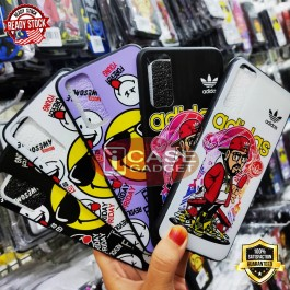 Oppo A12/A5S/F9, A5/A9 2020, A31, A51,A53,A93 Fashion Printed Cartoon Ultra Slim Full Cover Protection TPU Silicone Case