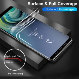 iPhone 7/8/SE Plus X/XS XR 11 12 Pro Max Mini Hydrogel Extreme Shock Eliminator Full Cover Screen Protector Film Like X-One