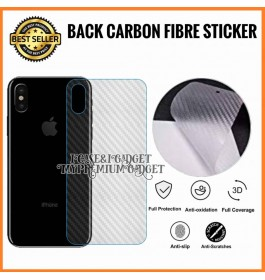 iPhone 4/4S, 5/5S/SE, 6/6S, 6 Plus/6S Plus, 7/8, 7 Plus/8 Plus, X/XS, XS Max, 11, 11 Pro, 11 Pro, 12, 12 Pro, 12 Pro Max 3D Anti Scratch Back Carbon Fiber Sticker Protection Film