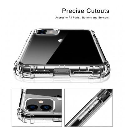 iPhone 4/4S, 5/5S/SE, 6/6S, 6 Plus/6S Plus, 7/8/SE 2020, 7 Plus/8 Plus, X/XS, XS Max, 11, 11 Pro, 11 Pro Max TPU Transparent Anti Shockproof Silicone Airbag Case