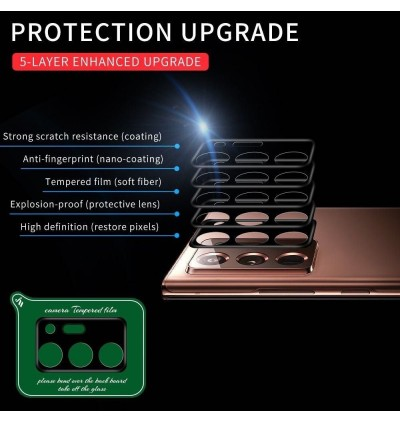 [3D FULL COVER] Oppo A54 A93 Reno 5F 6 Realme C21 8 5G High Quality Camera Tempered Glass Lens Cap Protection Film