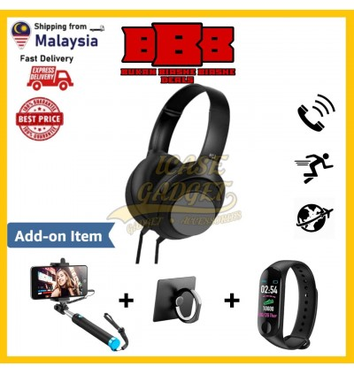 [BEST VALUE] Headphone Stylish Adjustable HiFi Audio EXTRA BASS Music With Mic For Call Like JBL