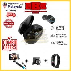 [COMBO SALES] Air2 Bluetooth Earphone IPX5 Waterproof Sport Headset Wireless Headphone Monopod Smart Watch like Realme