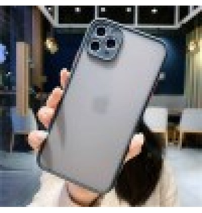 [FULL COVER]iPhone 13, 13 Mini, 13 Pro, 13 Pro Max Matte Transparent Full Camera Protection Anti Shockproof Case
