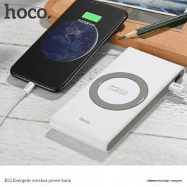 ORIGINAL HOCO B32 Powerbank 8000mAh Type C Wireless Charging
