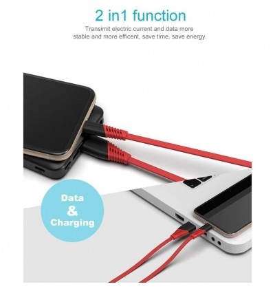 [ORIGINAL] PINENG PN303 Fast Charging & High Speed Data Sync High Quality Android Micro USB Cable (1 Meter)