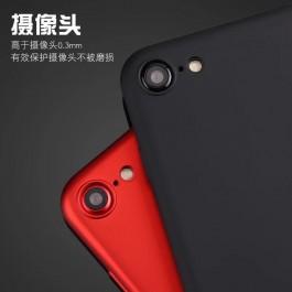 Vivo V3 Max, V5, V5 Plus Red & Black Soft Silicone Case