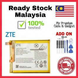 [100% FULL CAPACITY] Battery ZTE Blade A320, A510, A520, A610, Q1, Q3, QLUX (A430), V7 Lite High Quality Replacement Spareparts Add-On Tools