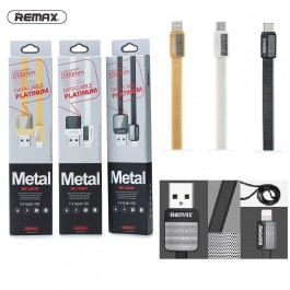 REMAX RC-044m Platinum Data Micro Metal USB Cable for Android
