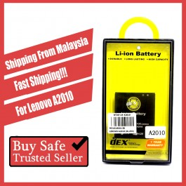 Battery DEX For Lenovo A2010, A269, A3600, A369, A390, A399, A516, A590, A6000