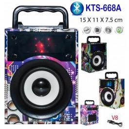 Portable Wireless Bluetooth Mini Speaker Extra Bass KTS-K668A