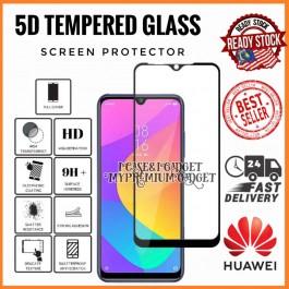 [FULL COVER] Huawei P20, P20 Pro, P30, P30 Pro,P40 5D/9D Premium Edge To Edge HD Full Glue Tempered Glass