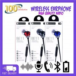 BOROFONE BE11 Magnetic Sports Bluetooth Earphones In-Ear Stereo Earbuds Wireless