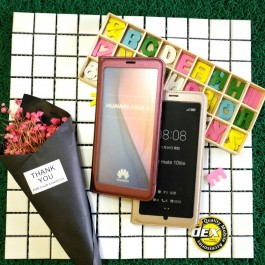 [PROMOTION] Huawei Nova 3e/P20 Lite Smart Clear Window View Luxury Leather Flip Case.