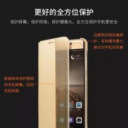 Huawei P10, P10 Plus, P20, P20 Pro Smart View Flip Case FREE Tempered Glass