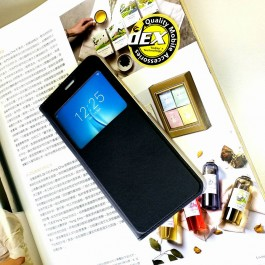 Oppo A33, A35, A37, A59, A71, A83 S View Window Flip Case Cover FREE TEMPERED GLASS