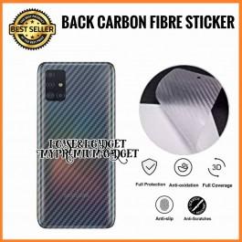 Samsung Galaxy A5/A7 2017, A9, C9 Pro  3D Anti Fingerprint Back Carbon Fiber Sticker Film