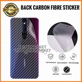 Oppo A1K, A3S,A31, A33, A35, A37, A5S, A57, A59, A5 2020, A77, A83, A9 2020 3D Anti Fingerprint Back Carbon Fiber Sticker Film