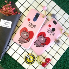 Oppo A37, F5 Pinky Series Silicone Cute Case
