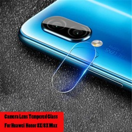 Huawei Honor 8X Back Rear Camera Lens Full Cover Glue Clear HD Tempered Glass Protector
