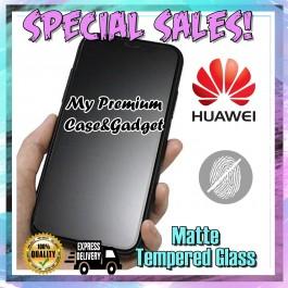 Huawei Nova 2i,2 Lite, Nova 3/3i, Nova 4 Matte Anti Fingerprint Tempered Glass