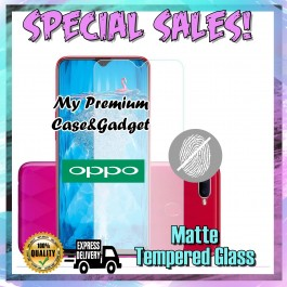 Oppo A1K, A3S, A5S Matte Anti Fingerprint Tempered Glass