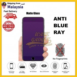 Huawei Mate 20, Y9 2019, Honor 8X Matte Anti Blue Ray Fingerprint 9H Hardness Full Glue Tempered Glass Screen Protector