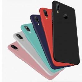 Samsung Galaxy A10, A30, A50 Simple Style Matte Liquid TPU Silicone Ultra Thin Case