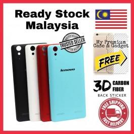 Lenovo A316, A319, A369, A5000, A516, A6000, A850, A880/A889, S820, S850 Back Battery Cover Housing Sparepart Replacement FREE Back Carbon Fiber Sticker