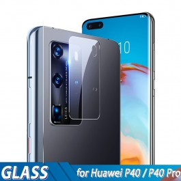 Huawei P20, P20 Pro, P30, P30 Pro, P40, P40 Pro 5G Back Rear Camera Lens Full Cover Glue Clear HD Tempered Glass Protector